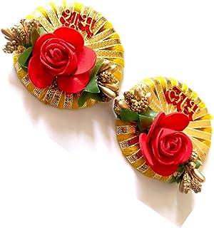SHRIYA Shubh-Labha Side Door Hangings with Flower Designe for Door Decoration Diwali Decoration Latkan Toran and Door Hang...