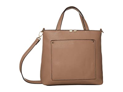 SOLE / SOCIETY Cora Mini Tote (Pink Salt) Handbags