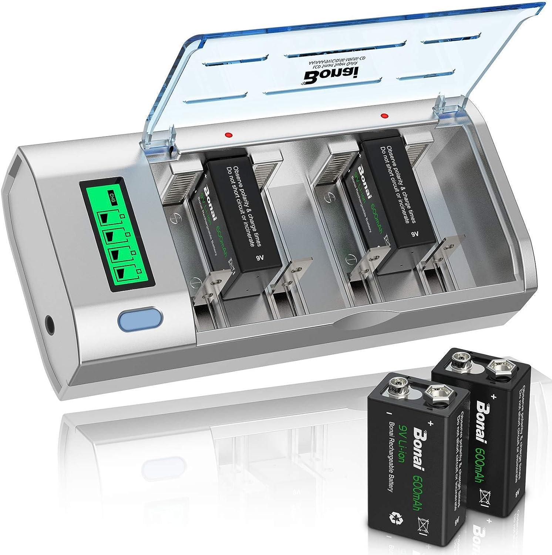 BONAI LCD Universal Kansas City Mall Battery Charger for Ni-MH Ni-CD AA We OFFer at cheap prices AAA C