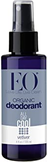 EO Organic Deodorant Spray, Vetiver, 4 oz