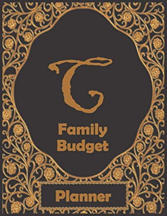 C Family Budget Planner: 1 year financial planner, prompts for recording daily, weekly, monthly expenses. Track money spent and where it went. Families that have last name starting with C.