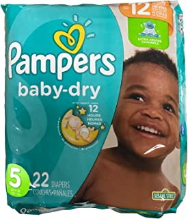 Pampers Diapers Size 5-22ct.