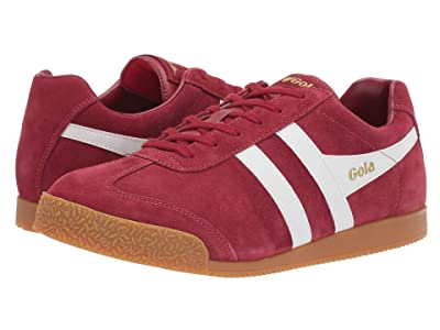 Gola Harrier (Deep Red/White) Men