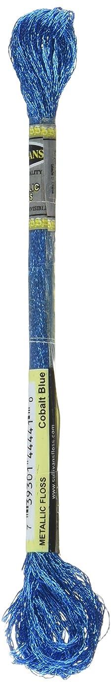 Sullivans Metallic Floss-Cobalt Blue 6 per Box