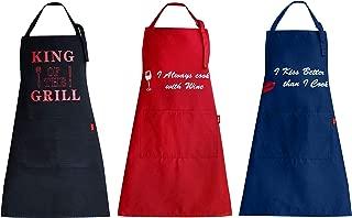 Best blue chef aprons Reviews