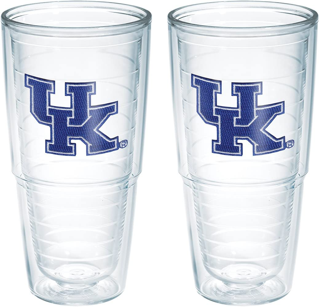 OFFer Tervis Kentucky Univ Emblem Clear Inner Large discharge sale Pack 24oz 2 with Tumbler