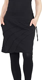 Leucht-Welten Mujer Minifalda de Verano Goa Style Lana S91