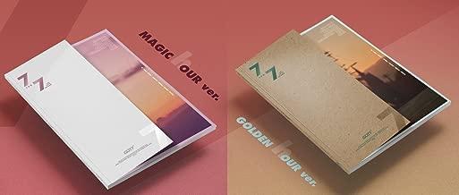 GOT7 - 7 for 7 [MAGIC HOUR+GOLDEN HOUR ver. SET] 2CD+Booklet+2Folded Poster+Pre-Order Benefit+Extra Photocards Set (KPOP Market Only)