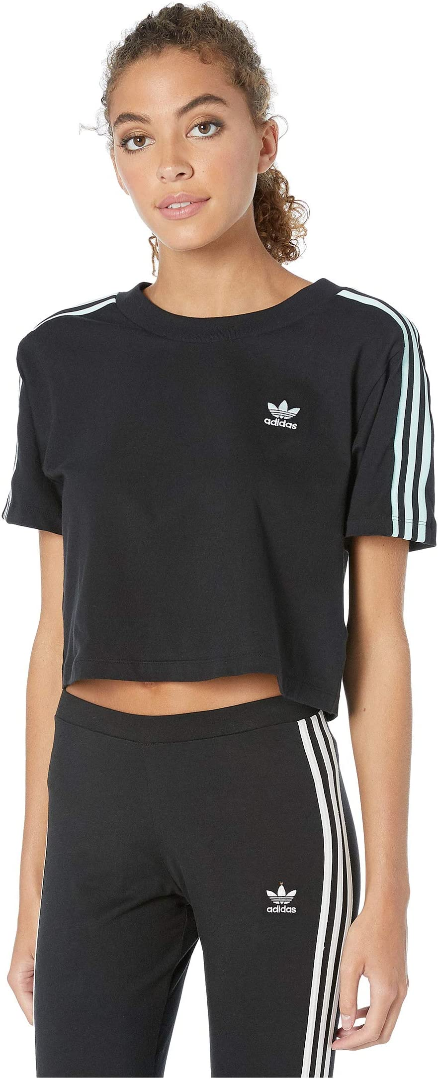 retro adidas t shirt women& 39