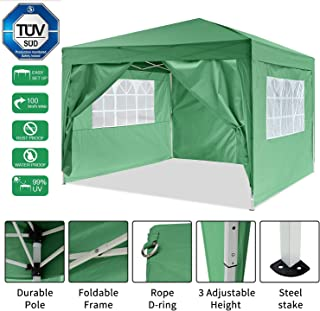 Amazon.fr : Tonnelle Pliante 3x3 Verte - 4 étoiles & plus