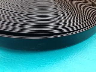 "NickHouse 1.5"" Vinyl Matte Finish Chair Strapping Outdoor Patio Furniture Repair 20' Dark Brown"