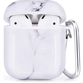 Amazon Com Cagos Compatible With Airpods Case 3 In 1 Cute Marble