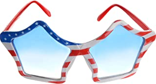 Patriotic Party Star Glasses