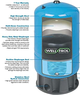 Amtrol-Well-X-Trol 20 Gallon Water System Pressure Tank with Composite Base - WX-202D