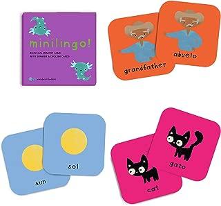 Minilingo: Spanish/English Bilingual Memory Card Game / Worldwide Buddies