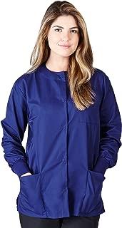 Natural Uniforms Women's Scrub Warm Up Jacket (Plus Sizes Available)