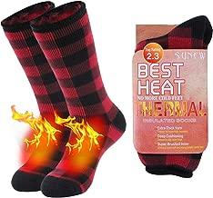 red socks feet