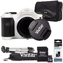 Vivitar ViviCam S1527 16.1 Megapixel Compact Camera, White (VS1527-WHT)