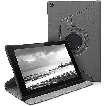 kwmobile Hülle kompatibel mit Sony Xperia Tablet Z2-360° Tablet Schutzhülle Cover Case Anthrazit