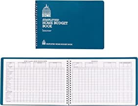 Dome(R) Simplified Home Budget Book, 7 1/2in. x 10 1/2in., Teal
