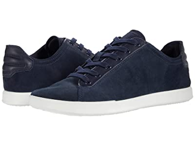 ECCO Collin 2.0 All-Day Sneaker (Navy/Night Sky/Night Sky Calf Suede/Cow Leather/Textile) Men
