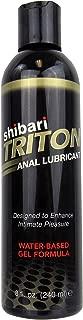 Shibari Triton Anal Lubricant, Premium Water-Based Gel Formula, Quality Anal Lube, 8 Fluid Ounces