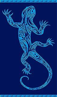 Parches 8,3x3,8cm lagarto salamandra geco animal verde termoadhesivos bordados aplique para ropa