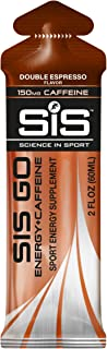 SCIENCE IN SPORT Energy Caffeine Gels, 22g Fast Acting Carbohydrates, 150mg of Caffeine for Physical and Mental Boost, Per...