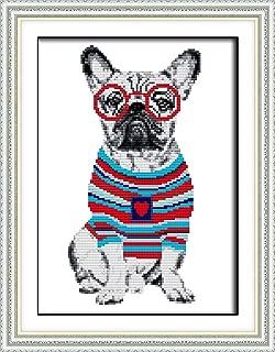 Best french bulldog cross stitch pattern Reviews