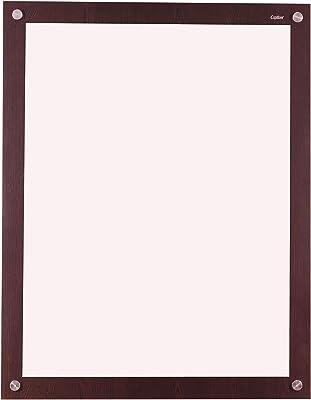 Captiver Solid Base Decorative Mirror Wenge 18X24 Inch