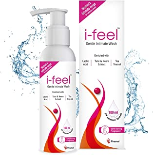 i-feel Gentle Intimate Hygiene wash, enriched with Tea Tree Oil, Neem and Tulsi extracts, prevents odour, itching, rashes,...
