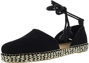 black flat sandals with tassels