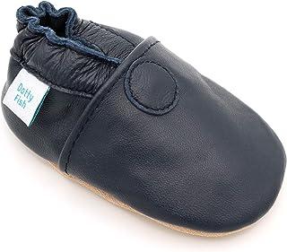 554e5980d51e5 Dotty Fish Chaussures Cuir Souple bébé et Bambin. 0-6 Mois - 4-