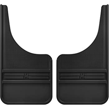 Husky Liners Rubber Front Mud Flaps - 12IN w/o Weight