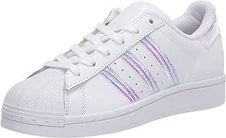 adidas Originals Kids' Superstar Pump, White/White/White, 3.5