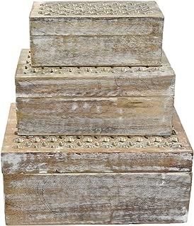 mango wood jewellery box