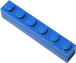 LEGO Parts and Pieces: Blue (Bright Blue) 1x6 Brick x100