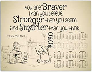 you are braver than you believe pooh