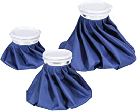 Ice Cold Pack Ohuhu Reusable Ice Bag Hot Water Bag for Injuries, Hot & Cold Therapy and Pain Relief, Pack of 3, 3 Sizes (6