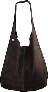 Dazoriginal Gamuza Hobo Bolso Hombro Piel Bolso Mujer Hobo Bag Grande Ante Cuero