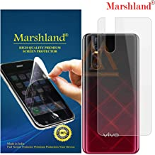 MARSHLAND Matte Finish Back Screen Protector Flexible Anti Scratch Bubble Free Back Screen Guard Compatible for Vivo V15 Pro