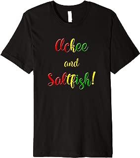 Ackee and Saltfish Jamaica Gift Premium T-Shirt