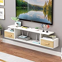 LJYY Drijvende plank Wandmontage Audio/Video Console TV Plank TV Stand Board Rack TV Kabinet Media Console Gaming Console ...