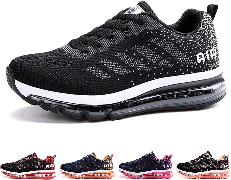 AONETIGER Zapatillas Deporte Hombre Mujer Deportivas Zapatillas de Trail Running Ligero Fitness Gym Zapatos para Casual Gimnasio Correr Sneakers Athletic Transpirables