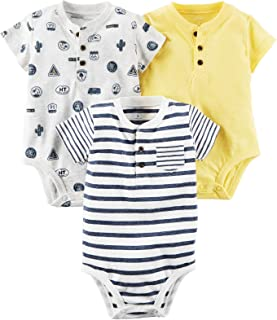 Carter's Baby Boys' Multi-pk Bodysuits 127g403