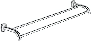 Grohe 40654001 Authentic Essentials Auth Double Towel Bar 582mm, Polished Chrome