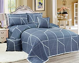 Compressed 6 Piece Comforter Set, King Size