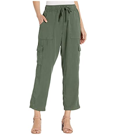 Sanctuary Discover Pull-On Tencel Cargo Pants (Peace Green) Women