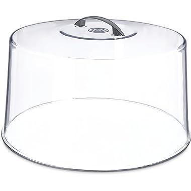 Carlisle 251207 Shatterproof 12  Cake Cover / Dome, 6.5  Tall