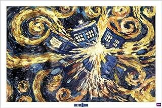 (24x36) Doctor Who Exploding Tardis TV Poster Print